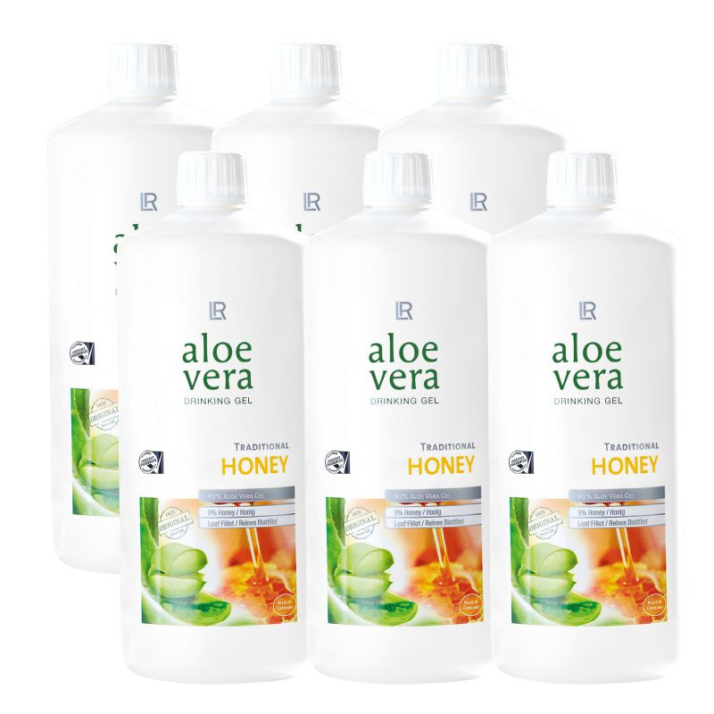 LR Aloe Vera Gel HONEY 6ks x 1000ml