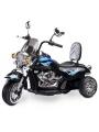 Toyz elektrická motorka Rebel černá