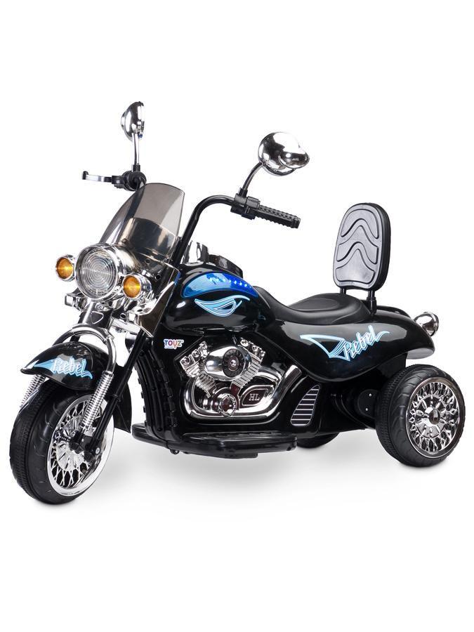 Toyz elektrická motorka Rebel černá + u nás ZÁRUKA 3 ROKY