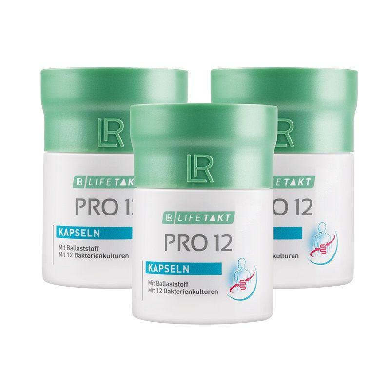 LR Health & Beauty LR Lifetakt Pro 12 Kapsle Série 3 ks 3 x 30 kapslí