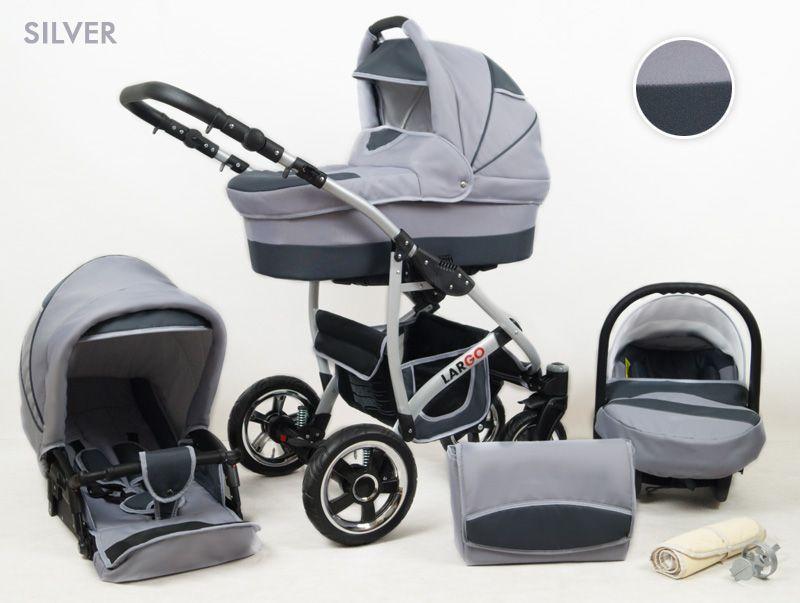 Raf-pol Baby Lux Largo 2020 Silver + u nás ZÁRUKA 3 ROKY