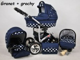 Raf-pol Baby Lux Largo 2021 Navy Blue Dots