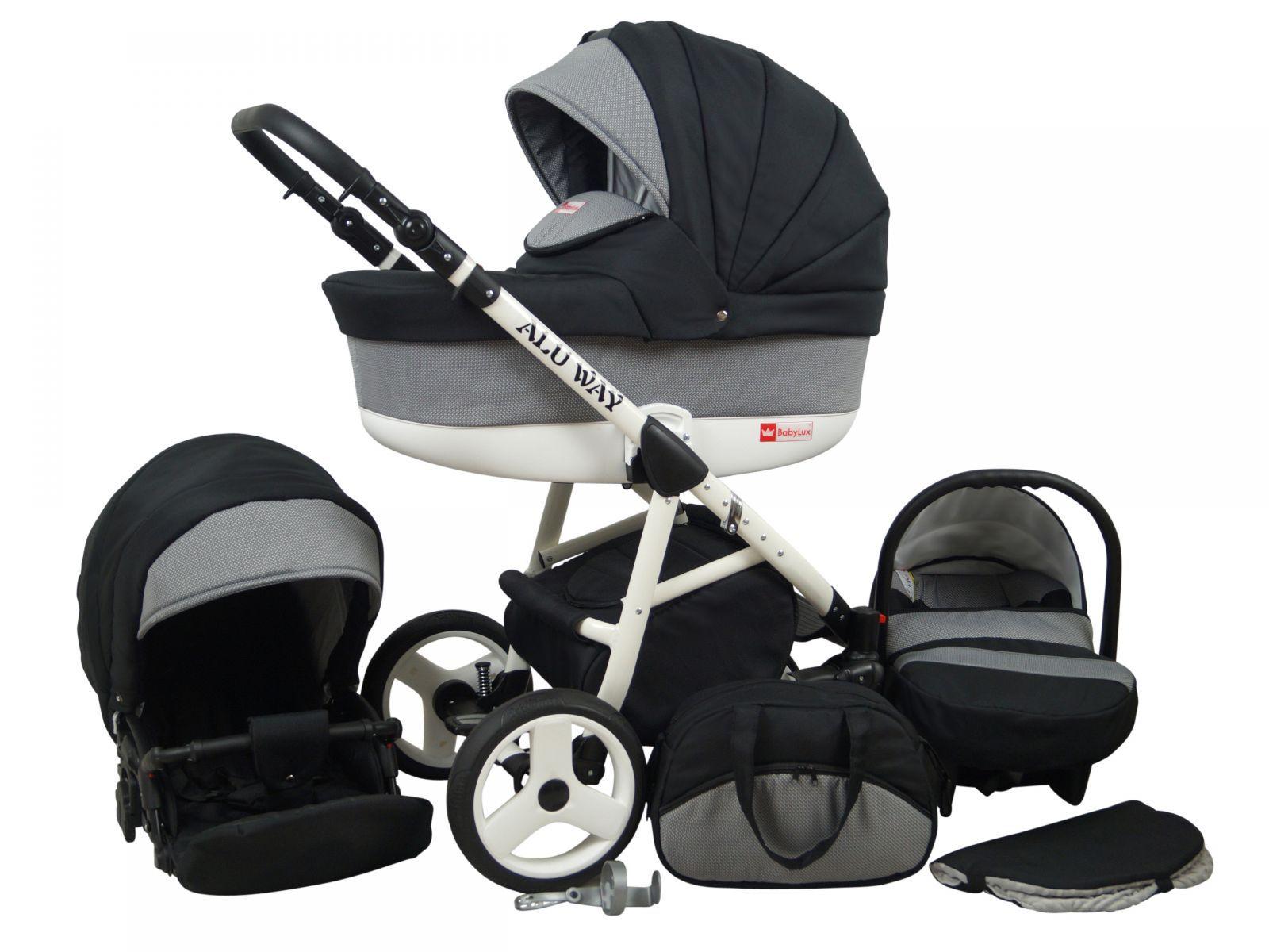 Raf-pol Baby Lux Alu way 2v1 2020 Carbon + u nás ZÁRUKA 3 ROKY