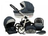 Raf-pol Baby Lux Alu way 2v1 2020 Dark Grey