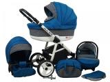 Raf-pol Baby Lux Alu way 2v1 2020 Indigo