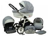 Raf-pol Baby Lux Alu way 2v1 2020 Silver