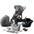 Kinderkraft Kombinovaný Prime 3v1 2020 Grey