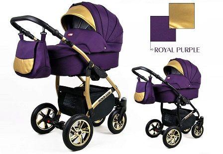 Raf-pol Baby Lux Gold Lux 2019 Royal purple + u nás ZÁRUKA 3 ROKY