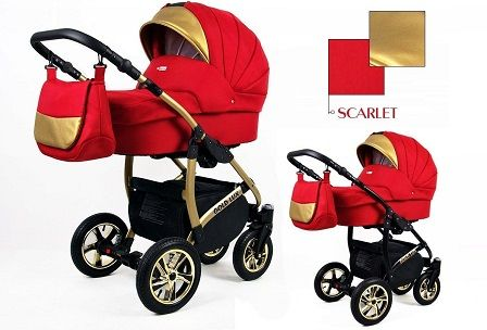 Raf-pol Baby Lux Gold Lux 2019 Scarlet + u nás ZÁRUKA 3 ROKY