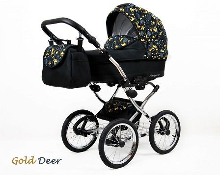 Raf-pol Baby Lux Margaret Chrome 2020 Gold deer + u nás ZÁRUKA 3 ROKY
