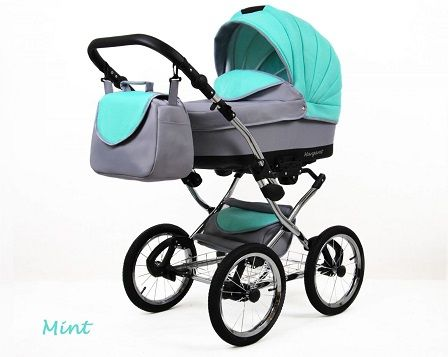 Raf-pol Baby Lux Margaret Chrome 2020 Mint + u nás ZÁRUKA 3 ROKY