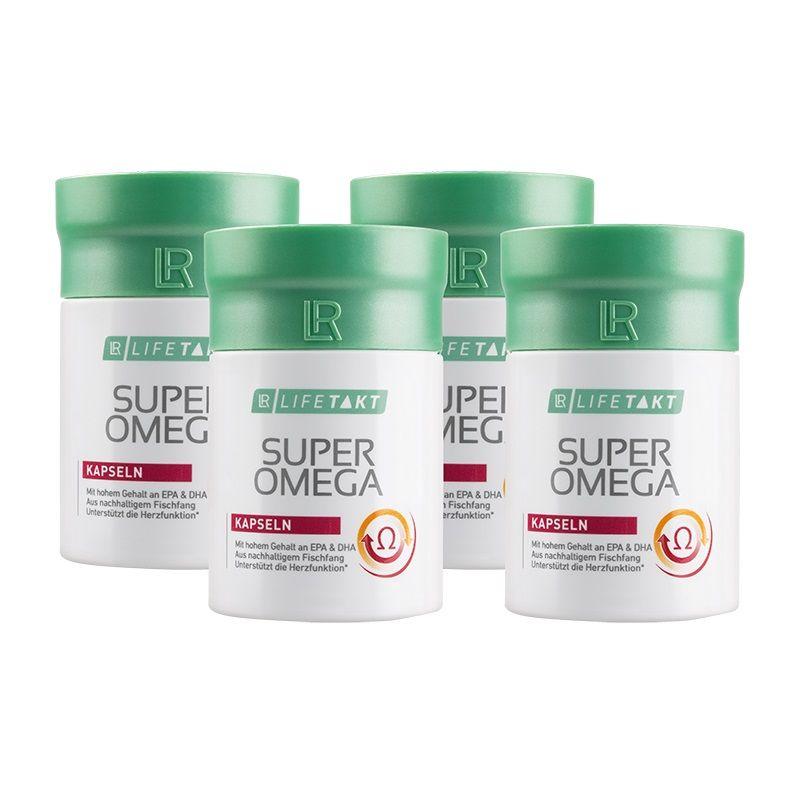 LR Health & Beauty LR Lifetakt Super Omega 4 x 60 kapslí