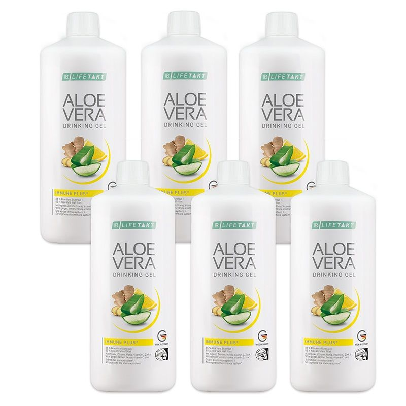 LR Health & Beauty LR Aloe Vera Drinking Gel Immune Plus Série 6 x 1000 ml