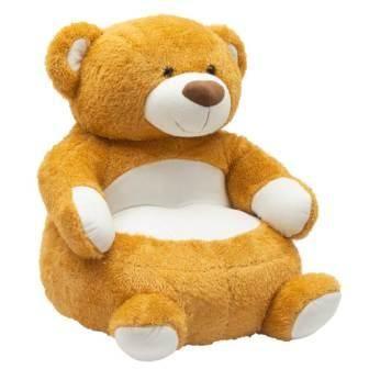 PlayTo dětské křesílko medvídek + u nás ZÁRUKA 3 ROKY