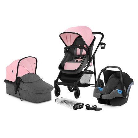 Kinderkraft Juli 3v1 2021 Pink + u nás ZÁRUKA 3 ROKY