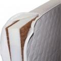 Danpol Dětská matrace New Baby 120x60 kokos-molitan-kokos bílá