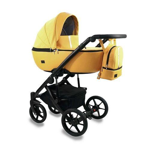 Bexa kombinovaný kočárek AIR 2021 Yellow + u nás ZÁRUKA 3 ROKY